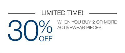 30% Off  Activewear at Lane Bryant