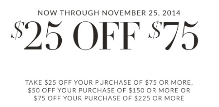 $25 Off $75 at Lane Bryant