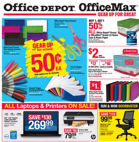Weekly Specials at Office Max