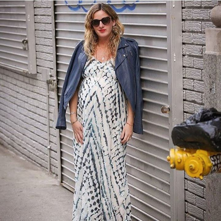 Love This Maxi Dress at Motherhood Maternity