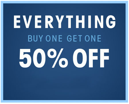 BOGO 50% Off Everything at Wet Seal