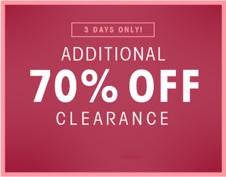 70% Off Clearance at Wet Seal