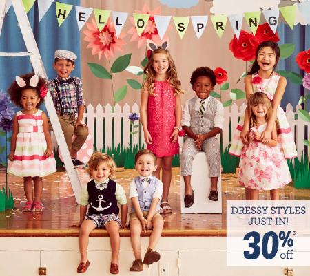 30% Off Dressy Styles