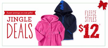 $12 Fleece Styles