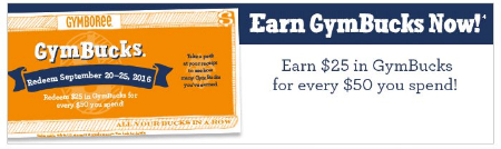 Earn GymBucks Now!