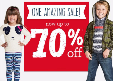 Up to 70% Off Select Merchandise