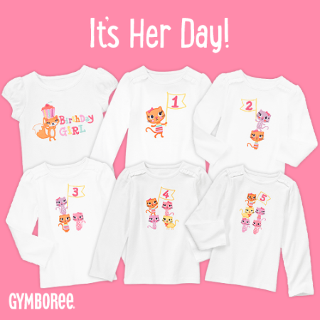 Get The Special Looks For Her Birthday At Gymboree