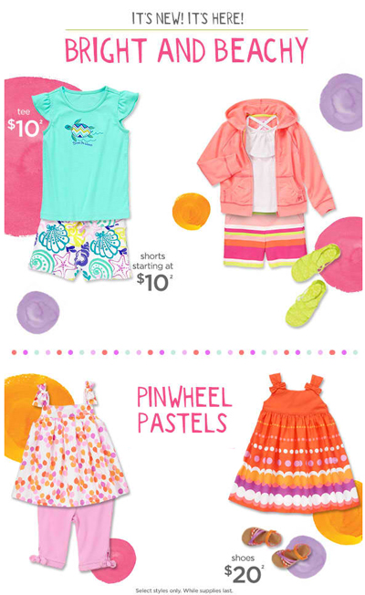 New Arrivals at Gymboree