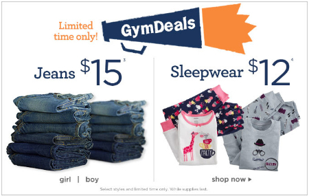 Gymdeal 15 Jeans At Gymboree