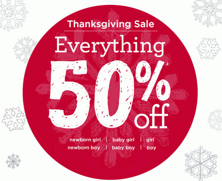 Take 50% Off Everything