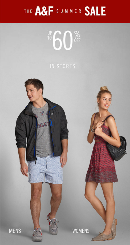 Summer Sale at Abercrombie & Fitch