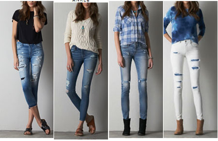 AEO Jeans BOGO 50% Off at American Eagle Outfitters