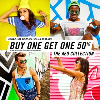 BOGO 50% Off at American Eagle Outfitters