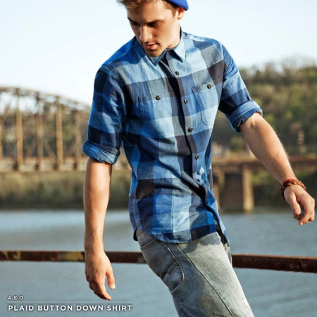 Get This  Workwear With a Heritage Twist at American Eagle Outfitters/Aerie