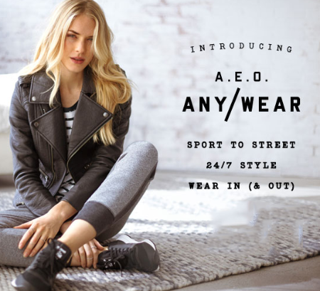 Introducing A.E.O. Any-Wear