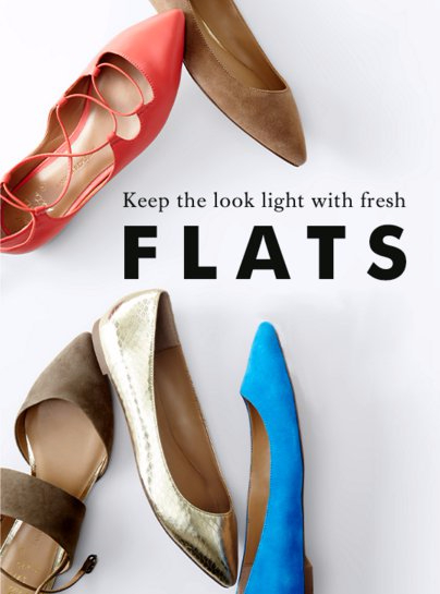 Keep The Look Light With Fresh Flats