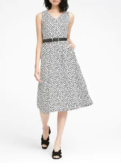 58532dc9823cb Del Monte Shopping Center :: Print Midi Fit-And-Flare Dress at ...