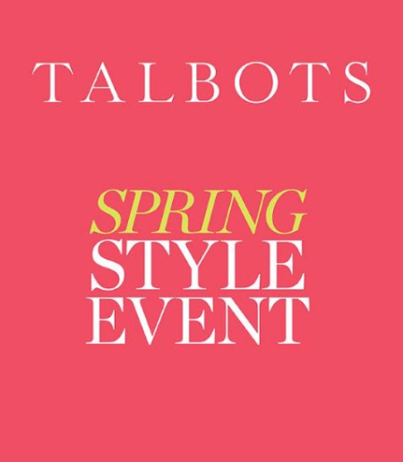 Spring Style EVENT at Talbots