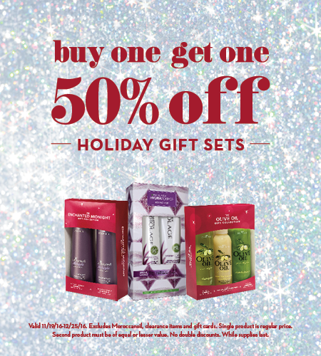 BOGO 50% Off Holiday Gift Sets