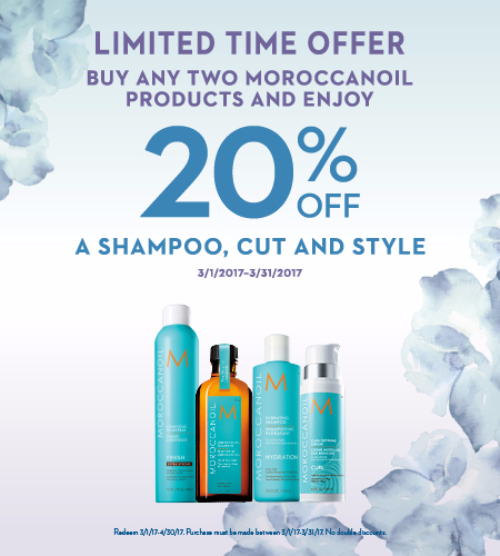 Limited Time Only - Special Moroccanoil Promotion