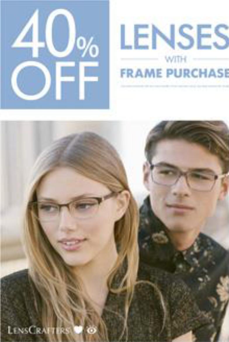 40% Off Lenses