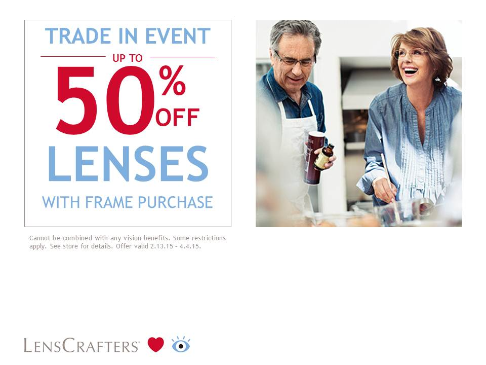 Trade-In Event! at LensCrafters