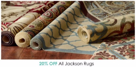 20% Off All Jackson Rugs