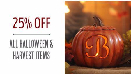 25% Off Halloween & Harvest Items at Kirkland's