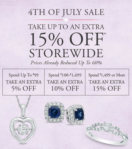 Take up to an Extra 15% Off at Gordon's Jewelers
