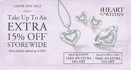 Up to 15% Off 2,000 or More at Gordon's Jewelers