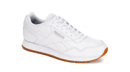 A sleek silhouette and classic design make the Classic Harmon men s running  shoe from Reebok a timeless staple in any athlete s closet. c37c1867c