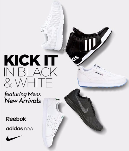 New Arrivals from adidas, Reebok, and Nike