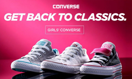 Shop Girls' Converse
