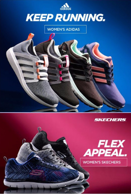 New Adidas and Skechers Styles for Women