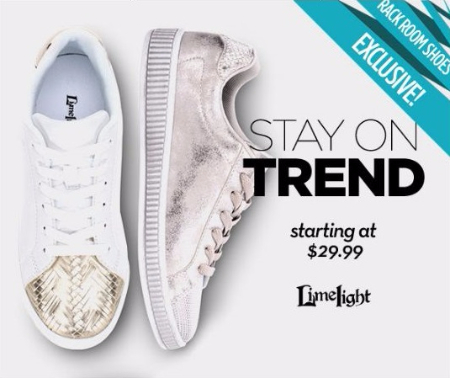 New Limelight Kicks Starting at $29.99