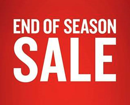 End of Season Sale at Finish Line