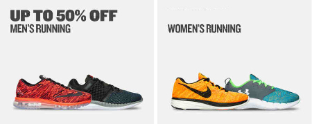 Up to 50% Off Running Shoes