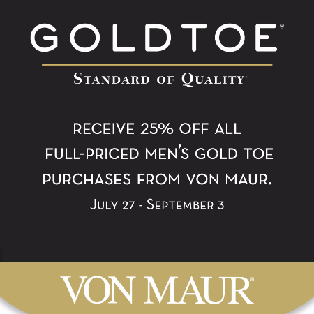 Gold Toe 25% off Sale