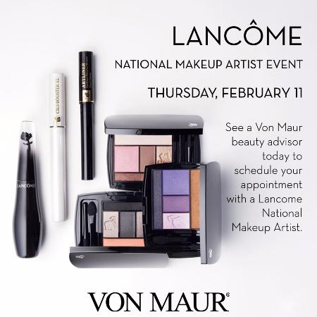 Lancôme National Makeup Artist Event