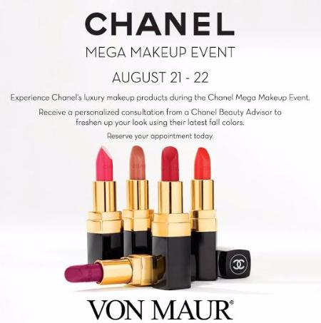 Chanel Mega Makeup Event