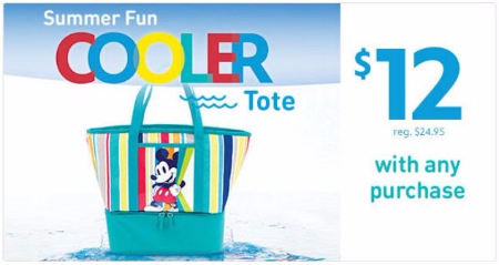 $12 Summer Fun Cooler Tote with Any Purchase