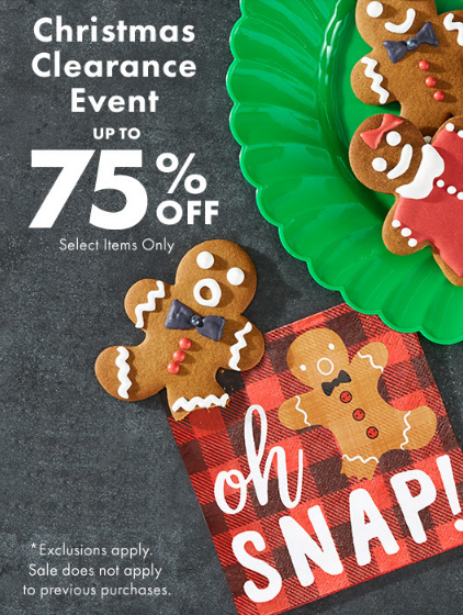 Party City | Christmas Clearance Event Up to 75% Off