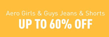 737130589 The Mall at Bay Plaza ::: Up to 60% Off Aero Girls & Guys Jeans ...