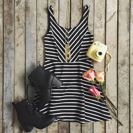 Discover This Little Black Dress at Aeropostale