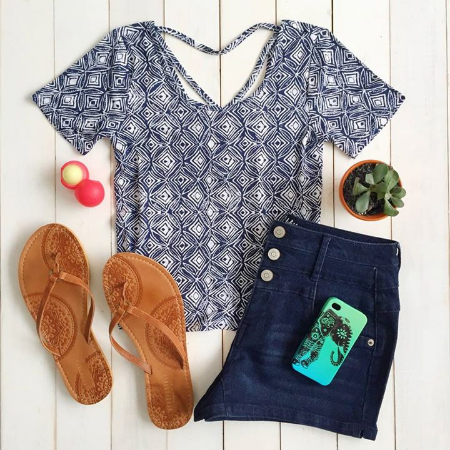Explore Our Perfect Tops and Shorts at Aéropostale