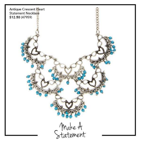 Grab This Gorgeous Necklace at Claire's Accessories