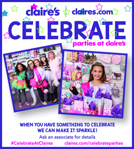 Celebrate Parties at Claires