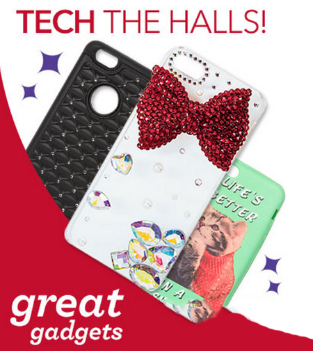 Tech the Halls at Claires