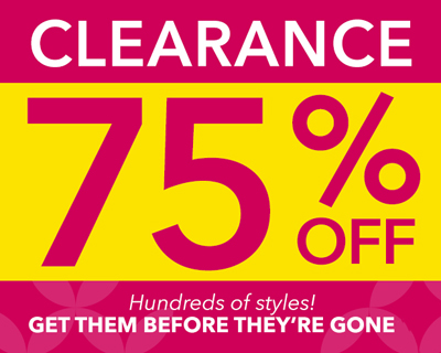 Clearance: 75% Off at Claires