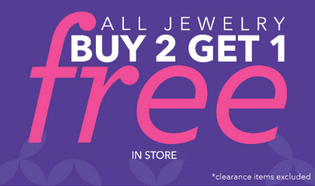 All Jewelry is on Sale at Claire's
